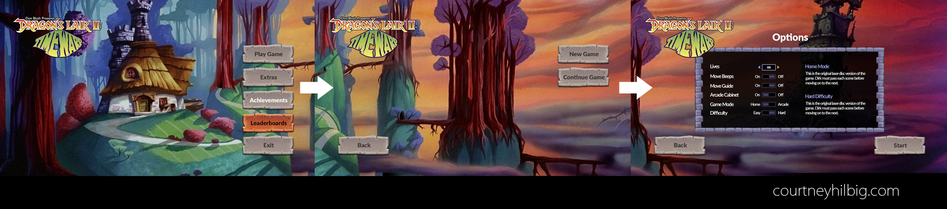 Panoramic Main Menu