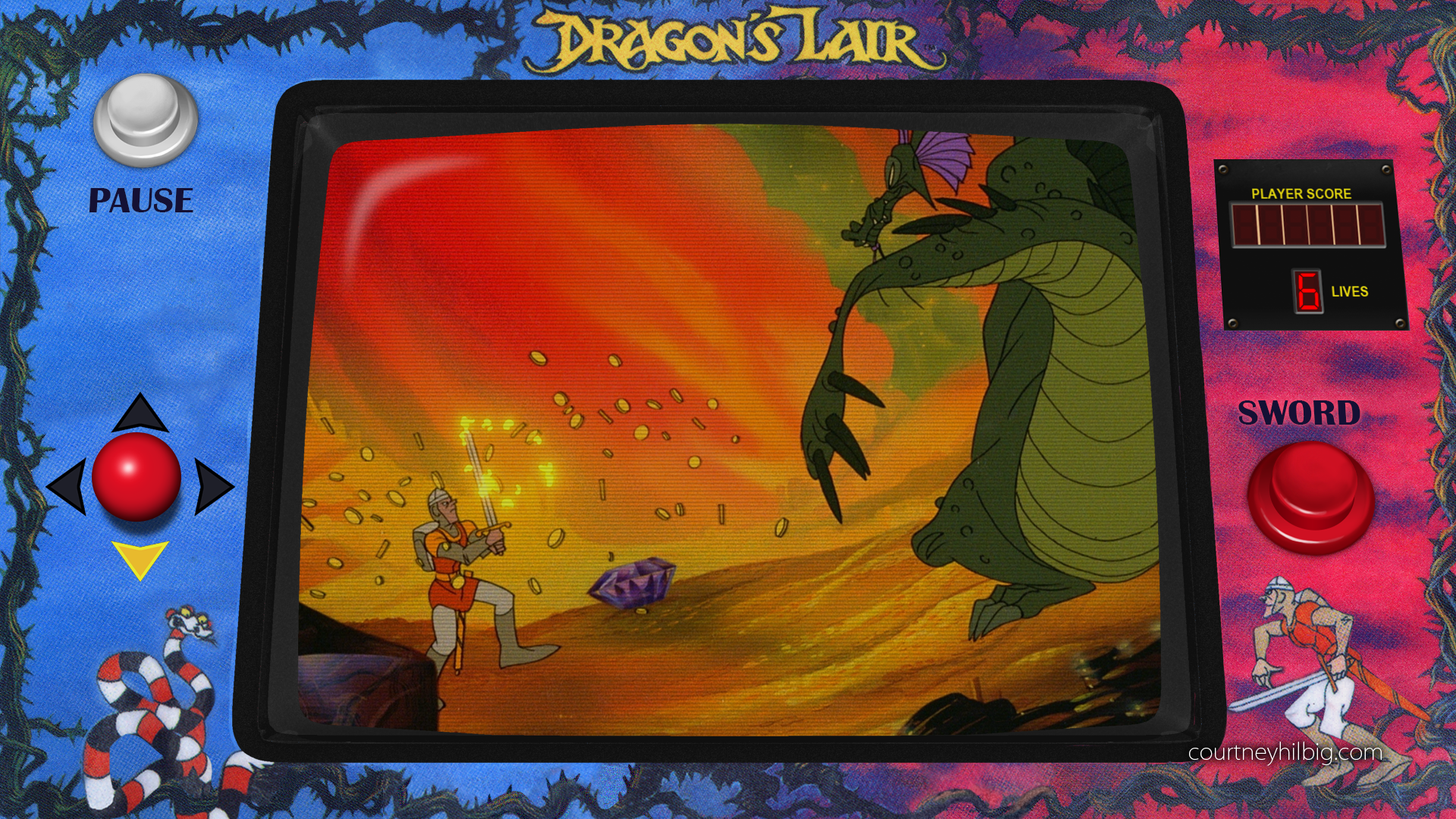 Dragon's Lair Arcade Mode