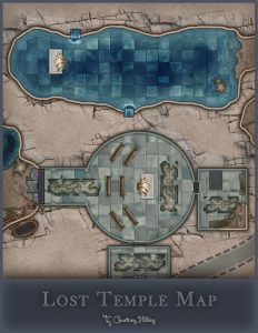 Lost Temple Map Cover Image