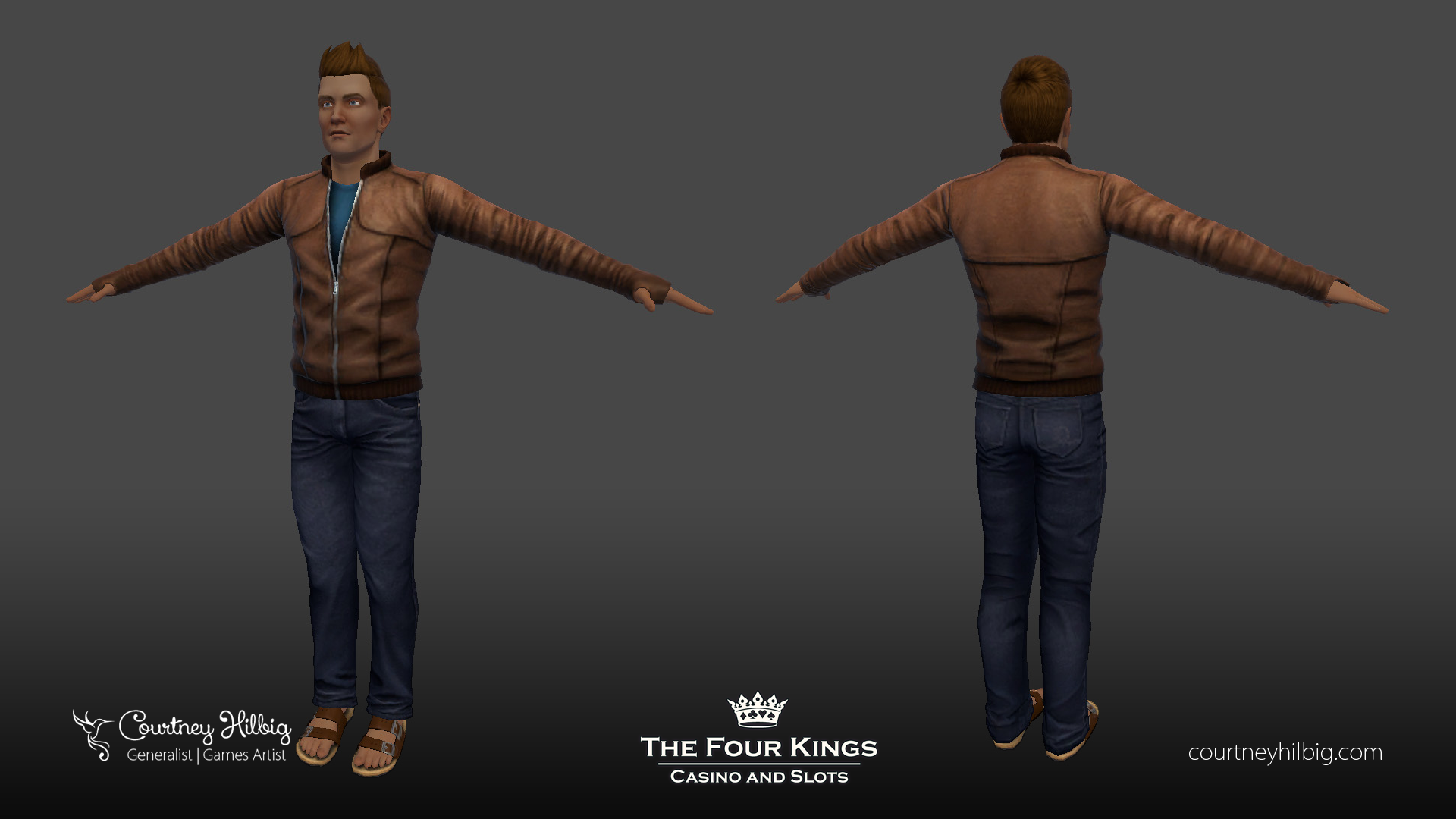 Male avatar clothing