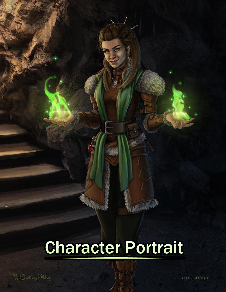Rowan Character Portrait